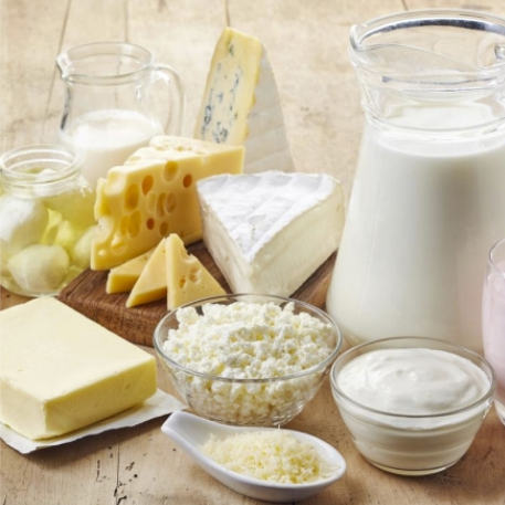 Preparation of dairy products